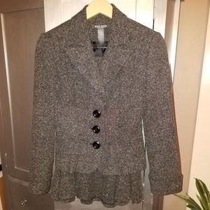 Bisou Bisou Vintage Style Tweed Skirt Suit